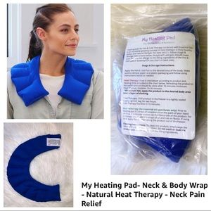 NEW Heating Pad NATURAL eco friendly Made in USA
